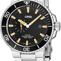 Oris Aquis Small Second Steel Black United States of America, New York, Brooklyn