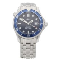 Omega Seamaster 2561.80.00 - Midsize Watch - Blue Dial & Bezel...