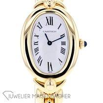 Cartier Baignoire gebraucht 35.3mm Gelbgold
