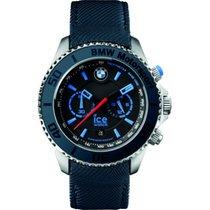 Ice Watch Reloj Ice BMW Hombre Piel Plateado Cuarzo Calendario