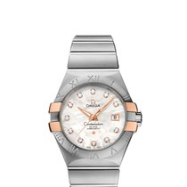 Omega Constellation Ladies Gold/Steel 31mm Mother of pearl United States of America, New York, New York