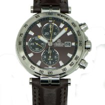 Michel Herbelin Newport (submodel) Steel 43,5mm Brown No numerals