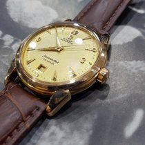 Omega Vintage Seamaster Calender Honeycomb Dial Automatic