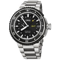 Oris Tantalum Automatic Black No numerals 49mm new ProDiver GMT