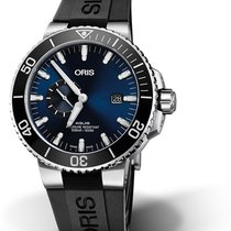 Oris Aquis Small Second Steel 45.5mm Blue United States of America, Georgia