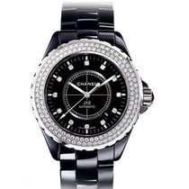 Chanel 42mm Automatic pre-owned J12 Black