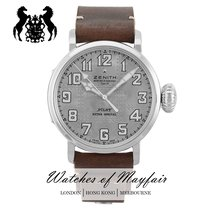 Zenith Silver Automatic Silver 45mm new Pilot Type 20 Extra Special
