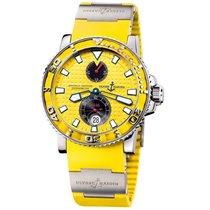 Ulysse Nardin Maxi Marine Diver Steel 42.7mm Yellow No numerals