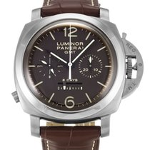 Panerai Luminor 1950 8 Days Chrono Monopulsante GMT PAM 00311 2019 new