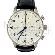 IWC Portuguese Chronograph Steel 40.9mm Silver
