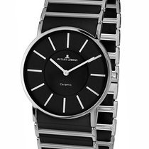 Jacques Lemans High Tech Ceramic York Steel 27mm Black
