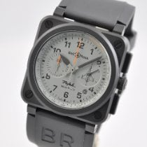 Bell & Ross BR 03-94 Chronographe Ceramic 42mm Black Arabic numerals United States of America, Ohio, Mason