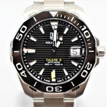 TAG Heuer Aquaracer 300M Zeljezo 41mm Crn Bez brojeva