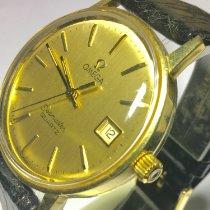 Omega Or jaune Quartz 1342 occasion