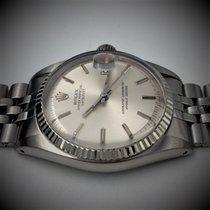 Rolex Datejust Goud/Staal 36mm Zilver Geen cijfers