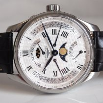 Longines Master Collection Steel 44mm Silver Roman numerals