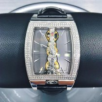Corum Oro blanco Cuerda manual 34mm nuevo Golden Bridge
