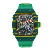 Richard Mille RM67-02 Carbon 2018 RM 67 38.7mm new