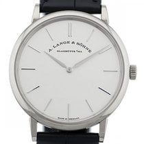 A. Lange & Söhne White gold 37mm Manual winding 201.027 new
