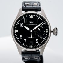 IWC Big Pilot Otel 46mm Negru Arabic