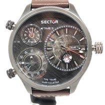 Sector Steel 54,8mm Quartz R3251504003 new