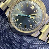Omega Genève Steel Blue