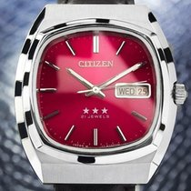 Citizen Steel 36mm Manual winding pre-owned United States of America, California, Beverly Hills