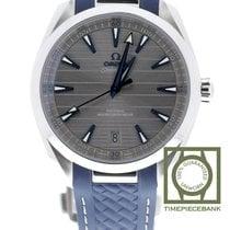Omega Seamaster Aqua Terra occasion 41mm Gris Date Caoutchouc