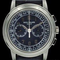 Patek Philippe Chronograph Platinum 42mm Blue United States of America, New York, New York