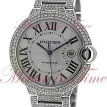 Cartier Ballon Bleu 42mm White gold 42.1mm Silver Roman numerals United States of America, New York, New York
