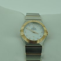 Omega Constellation Quarz Stahl/ Rosegold 27 mm