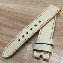 Strap for panerai 44mm 24/22 beige croco band fit for 44mm case