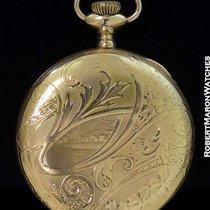 A.w w.co Waltham Pocket Watch Gold Filled