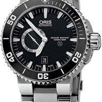 Oris Diver Aquis Titan Small Second Date 743.7664.7154.MB