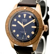 Oris Carl Brashear Limited Edition Ref-0173377203185 Bronze/St...