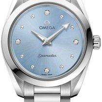 Omega Seamaster Aqua Terra Acier 28mm Bleu
