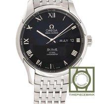 Omega De Ville Co-Axial Acier 41mm Noir Romains