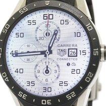 태그호이어 (TAG Heuer) Connected Smart Watch Titanium Rubber Quartz...