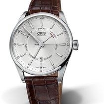 Oris Artix Pointer Day Date 42mm Silver Dial