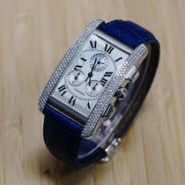 Cartier Tank Américaine Chrono original Cartier Diamonds