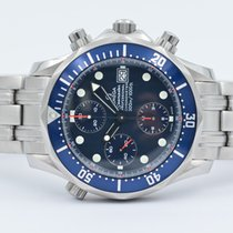 Omega Seamaster Diver 300 Chronograph Blue