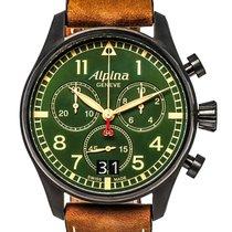 Alpina Startimer Pilot Big Date Chronograph Men's Watch –...