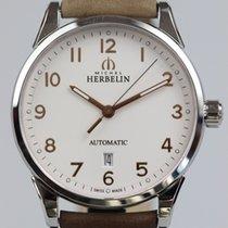米歇尔•赫本林 Classic 鋼 41mm 銀色 阿拉伯數字