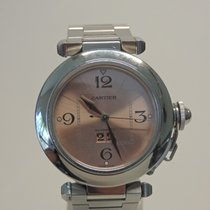 Cartier Pasha Steel Pink Arabic numerals United States of America, Florida, Fort Lauderdale
