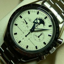 Omega Speedmaster Professional Moonwatch Moonphase Staal 42mm Wit Arabisch Nederland, America (NL)