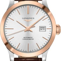 Longines Record Gold/Steel 30mm Silver United States of America, New York, Airmont