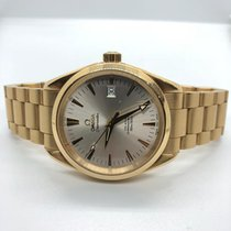 Omega Seamaster Co-Axial in 18KT YELLOW GOLD Automatic 42mm