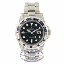 Rolex GMT-Master II Diamond and Sapphires