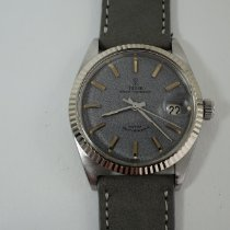Tudor Prince Oysterdate Steel 34mm Grey No numerals