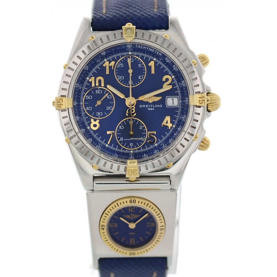 Breitling Chronomat Utc B13050 1 With Papers